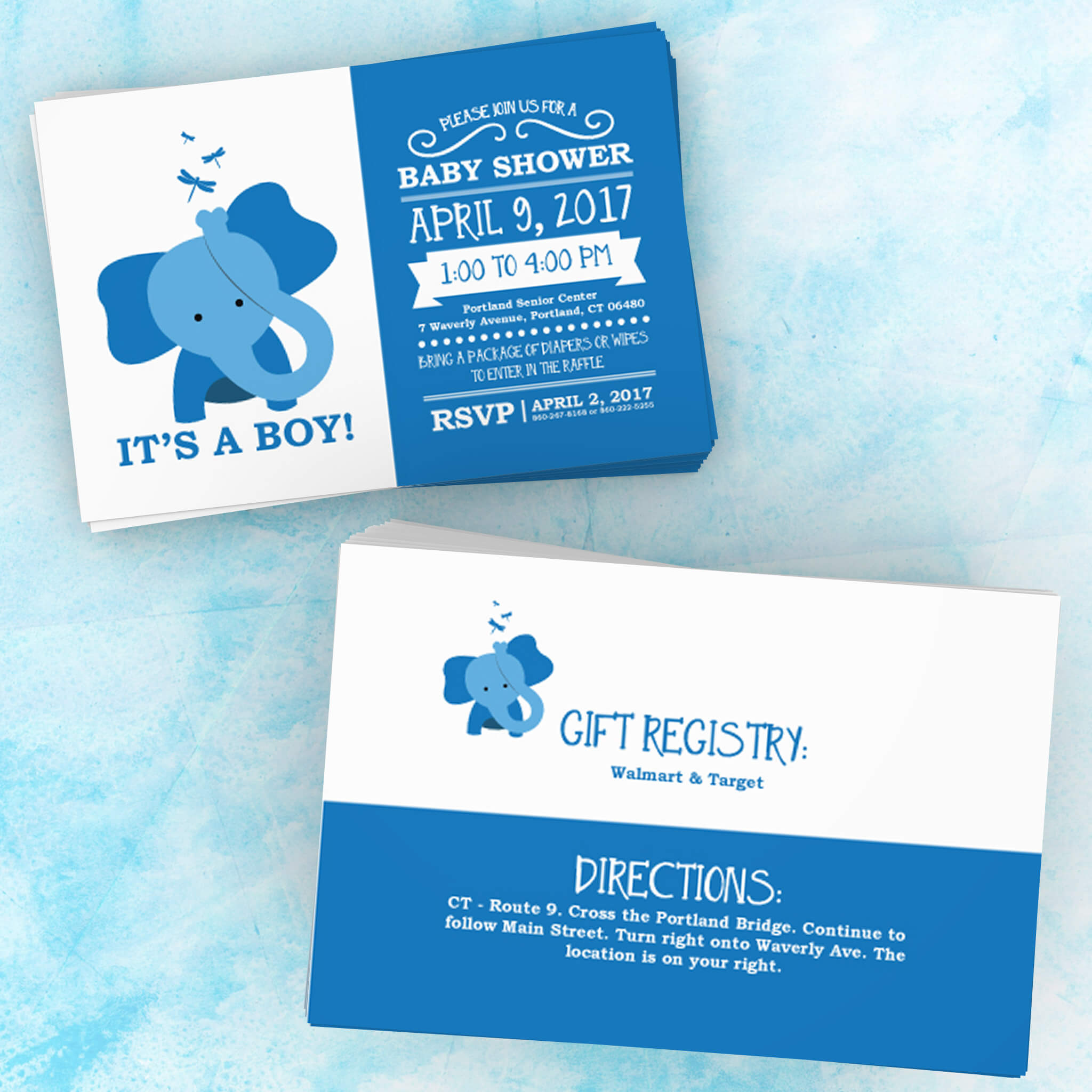 Baby Shower Invitation by Kevin Ferrisi
