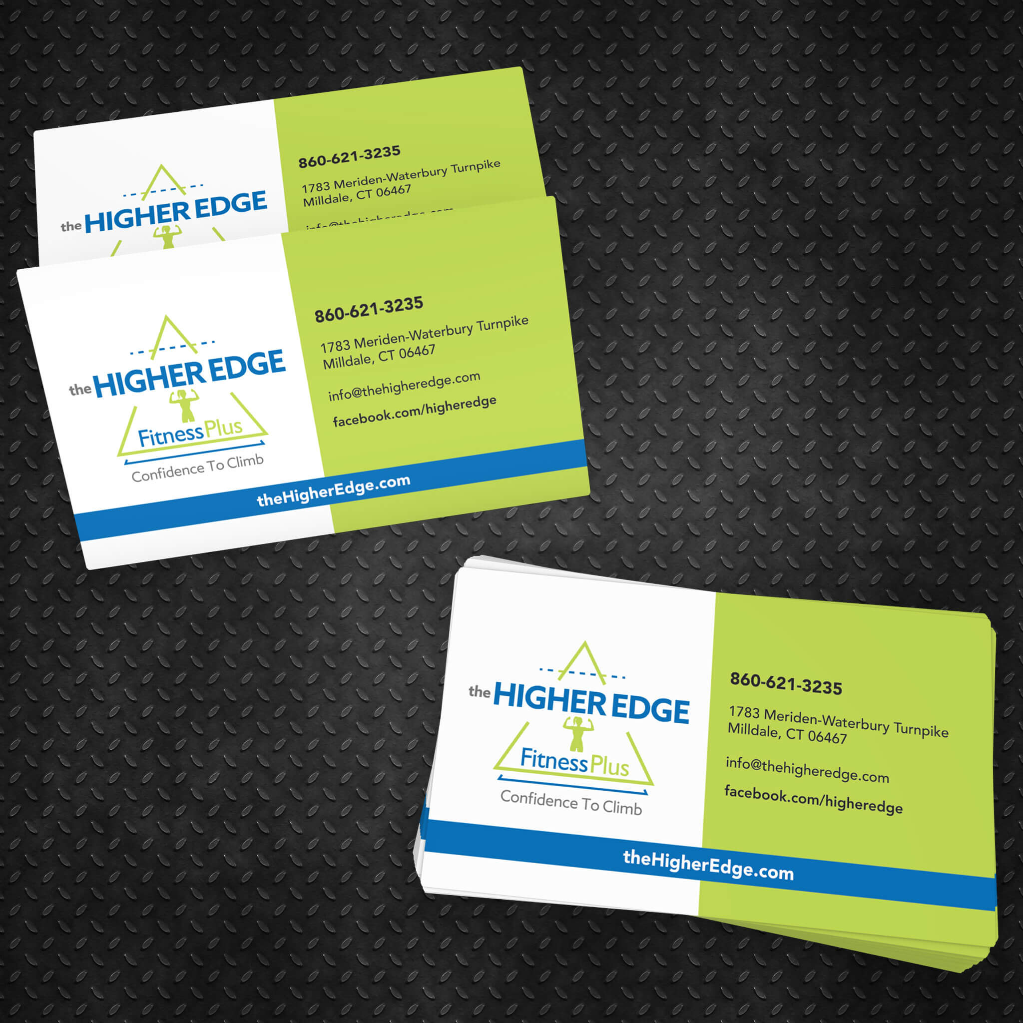 The Higher Edge Business Card by Kevin Ferrisi