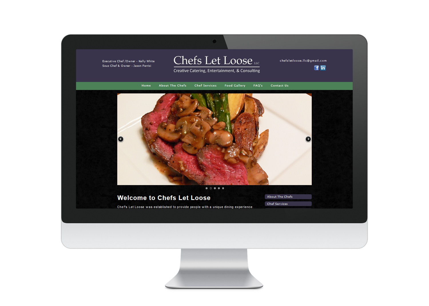 kevin_ferrisi_web_design_chefsletloose
