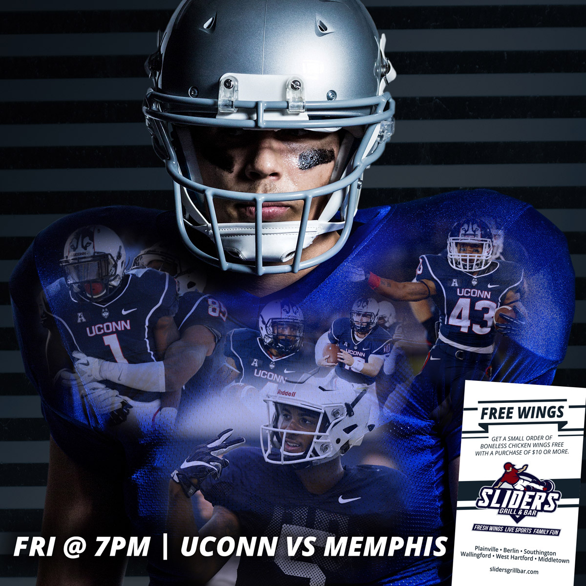 Friday Night - UCONN vs Memphis
