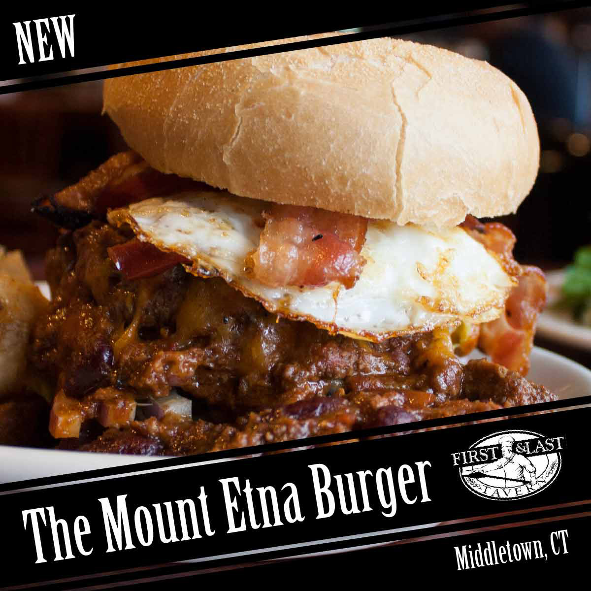 Mount Etna Burger