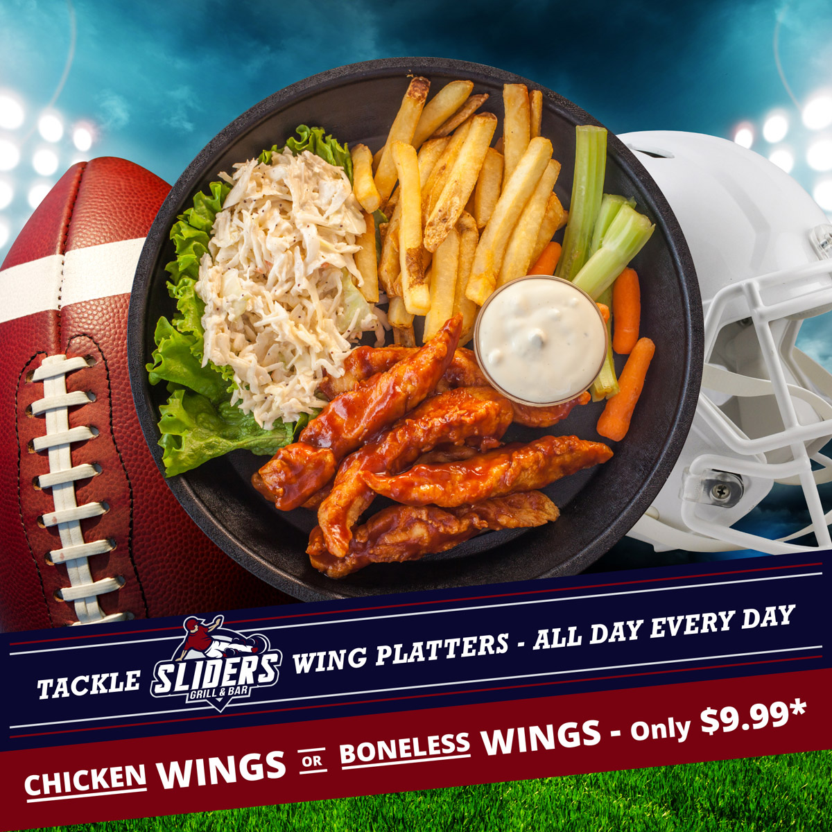 Tackle Wing Platters