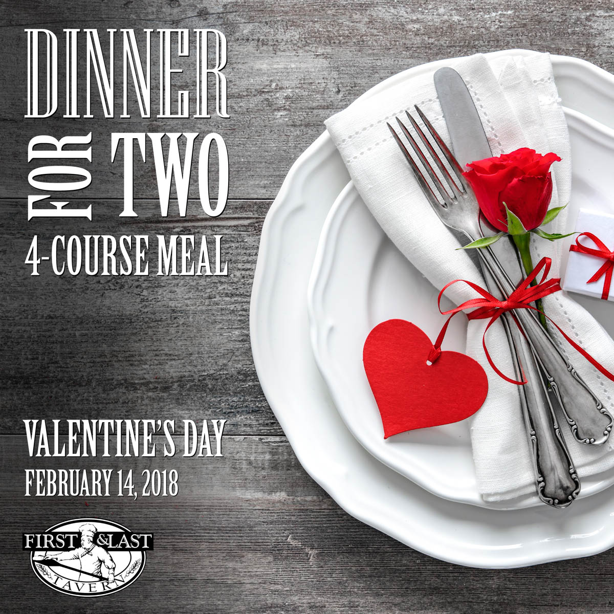 Valentine's Dinner For Two