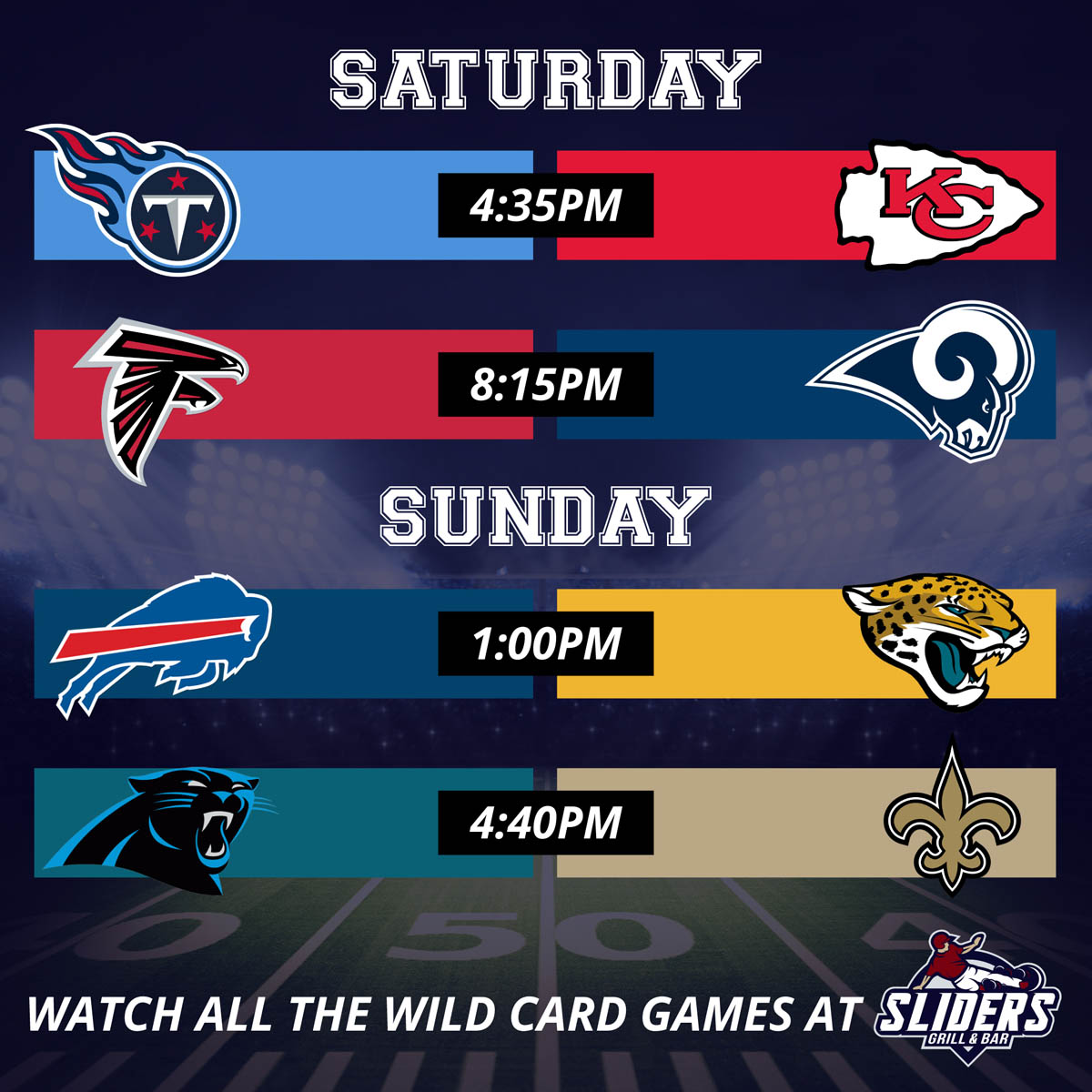 Wild Card Weekend